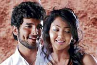 Diganth and Aindrita Ray in the film 'Manasaare'.