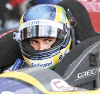 gearing up: Bruno Senna brings with him the weight of expectations thanks to his illustrious uncle. Reuters