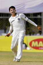 S Sreesanth has grabbed his opportunity with both hands. AFP