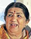 French honour for Lata