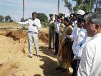 Illegal sand filtering comes to light in Gauribidanur