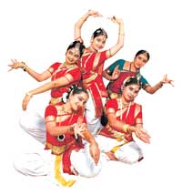 talented  Artistes of  Shambhavi School of Dance.