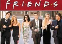 Friends most watched show of last decade