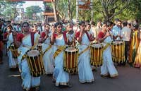 Resplendent glimpses of World Tulu Convention, which was started at Ujire on Thursday. DH photos by Chandrahas Kotekar