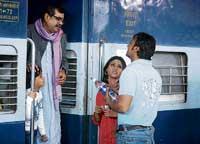 Film shoot at terror site