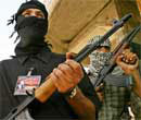 Al-Qaeda fighters. File photo