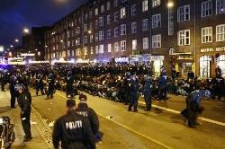 Thousands held after Copenhagen climate demonstration
