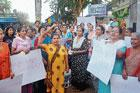 Women stage protest over assault on woman
