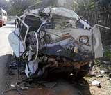 Five killed in accident