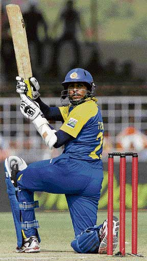 Close shave Tillakaratne Dilshan's ton went in vain. Reuters