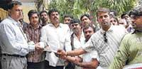 Protest rally by Youth Congress turns sour