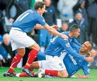 Portsmouth shock Liverpool