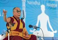 Dalai Lama against religious conversions