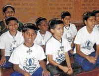 Indian Australians aid school for blind