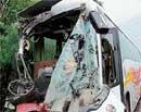 2 killed in bus collision