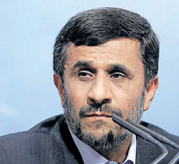President Mahmoud Ahmadinejad has come under severe criticism for crackdown on opposition.