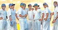 GUIDING FORCE: Rahul Dravid has led his team quite astutely this season in the Ranji Trophy. DH PHOTO/ SRIKANTA SHARMA R