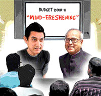 Bollywood actor Aamir Khan to talk with mandarins of Finance Ministry on 'Cinema and Society'.