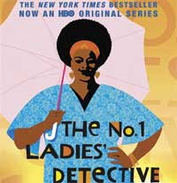 Bring it home: The DVD cover of TV series, 'The No 1 Ladies' Detective Agency'.