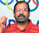 Indian Olympic Association President Suresh Kalmadi