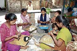 A file photo of beedi workers.