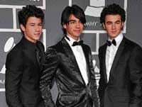PROUD The Jonas Brothers at last year's Grammy Awards.
