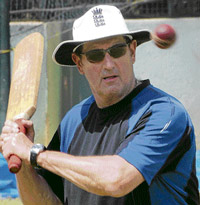 eagle-eyed:  Graham Gooch is now focused on guiding England's new crop of players.  dh photo/ m s manjunath