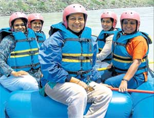 Spirit of adventure: An all-women rafting expedition on the Zanskar River.  PIC COURTESY/ WOW