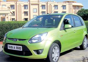 Ford Figo. DH Photo