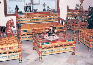 Decor theme: The latest fad in home decor is going  traditional and more Indian. File photo