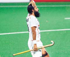 Despair: Asian teams were no match to their European  counterparts in the World Cup hockey. Reuters