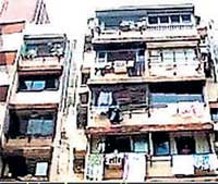 Saujanya Apartments at Andheri in North West Mumbai, where the shooting took place. Courtesy NDTV