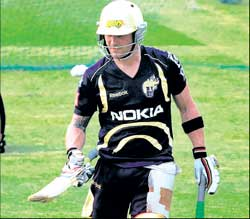 Kolkata Knight Riders are set to unleash Brendon McCullum in Wednesday's tie against Daredevils. PTI