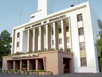 An external view of IIT Kharagpur, one of the leading educational institutions using IT for its operational management