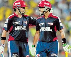 Big challenge: Delhi Daredevils will need another solid knock from Gautam Gambhir (left) on Sunday. PTI