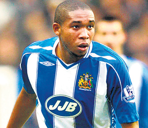 Man on a mission: Wilson Palacios hopes to make his mark in the World Cup 2010.