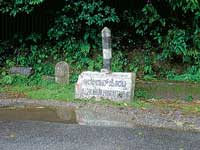 The sign board of Alekan Horatti has fallen on  Charmadi Ghat road.
