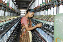 International clothing brands use labour that's abundantly available in India to bulk produce their designs. FILE PHOTO FOR REPRESENTATION ONLY