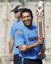 A file picture of Sachin Tendulkar. He was rested for tri-angular match to be held in Sri Lanka from August 10.