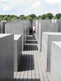 The Holocaust  memorial. Photo by author