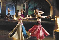 Belly dancing: 'Shimmy' is one of the many new shows launched by Travel & Living Channel.