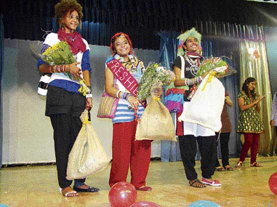 Proud: The 'Freshie Queen Contest'.