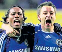 Didier Drogba (left) and John Terry will have to play pivotal roles in champions Chelsea's title defence.
