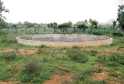 The eco park near Bhairaveshwara temple in Bagepalli has become safe haven for anti-social elements.DH photo