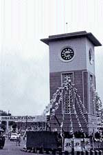 A file photo of the clock tower.