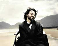 Packed with emotions: Hrithik Roshan in a still from 'Guzaarish'.