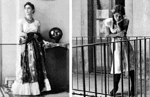 Light and shadows: A rare portrait of  Frida Kahlo and 'The Daydream.'