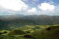 SEAMLESS EXPANSE: A scenic view of Pushpagiri hill range as seen from Mandalapatti in Kodagu district.