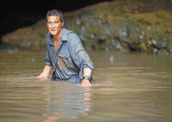 god of  adventure  Bear Grylls is the host of 'Man vs Wild'.