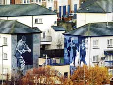 LABOUR OF LOVE Derry has a lot of political murals, which are a mix of propaganda and art